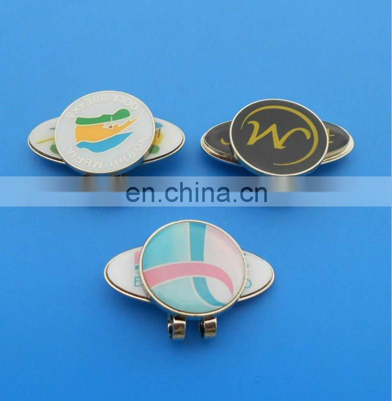new fashion shoe shape golf hat clip cap clip