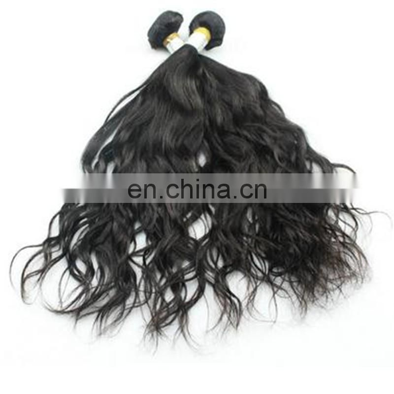 Hot selling 6A Best Feedback Wholesales machine weft brazilian water wave virgin hair extension