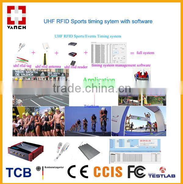 VANCH RFID Race Timing system/racing/marathon/swimming/GO Kart