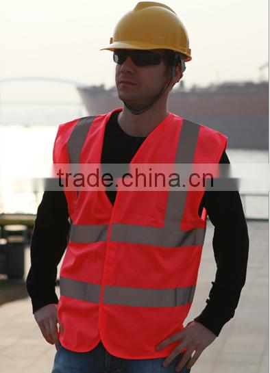 quality reflective high visibility winter safety vest, factory best sale product,reflective jacket yellow safety vest