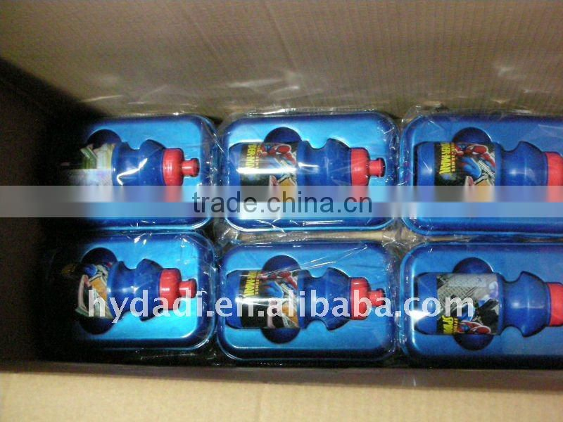 New product plastic box with water bottle for promotion