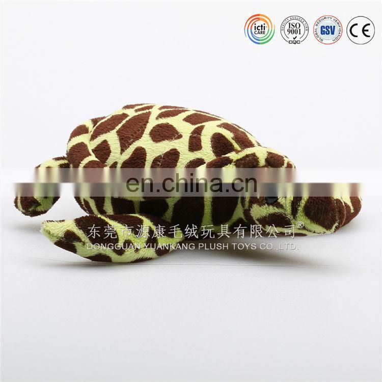 Comfortable soft turtle toys & funny plush turtle pillow