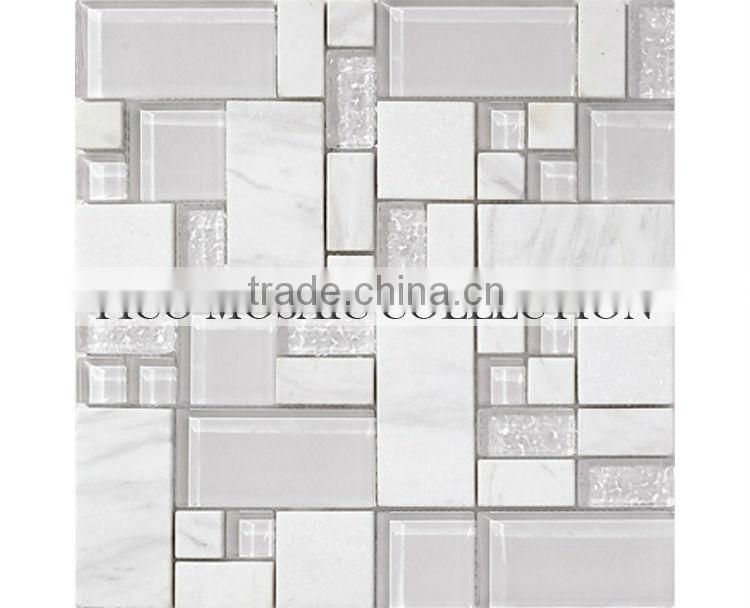 GSV6005 swimming pool mosaic glass tile china factory swimming pool glass mosaic tile cheap swimming pool mosaic glass tile