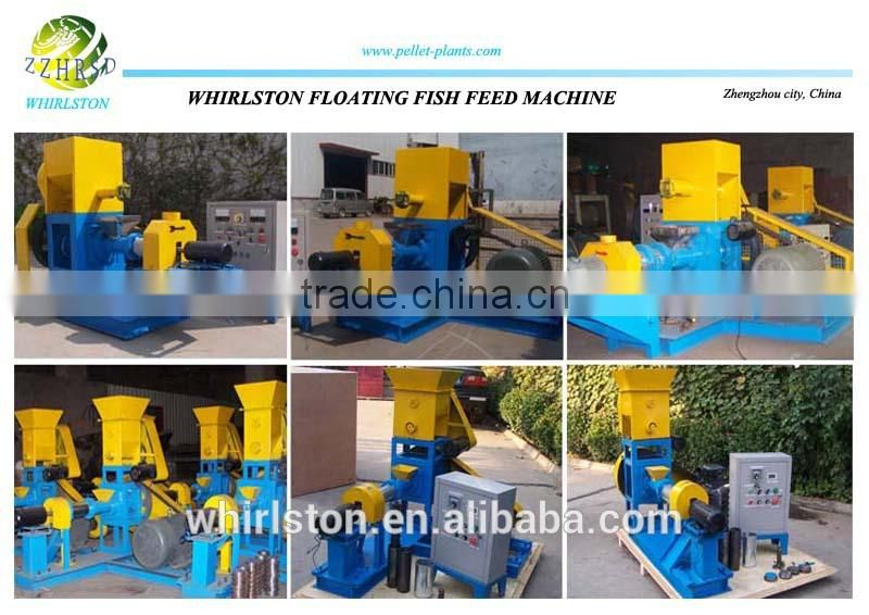 Floating fish feed formulation machinery for fish farming
