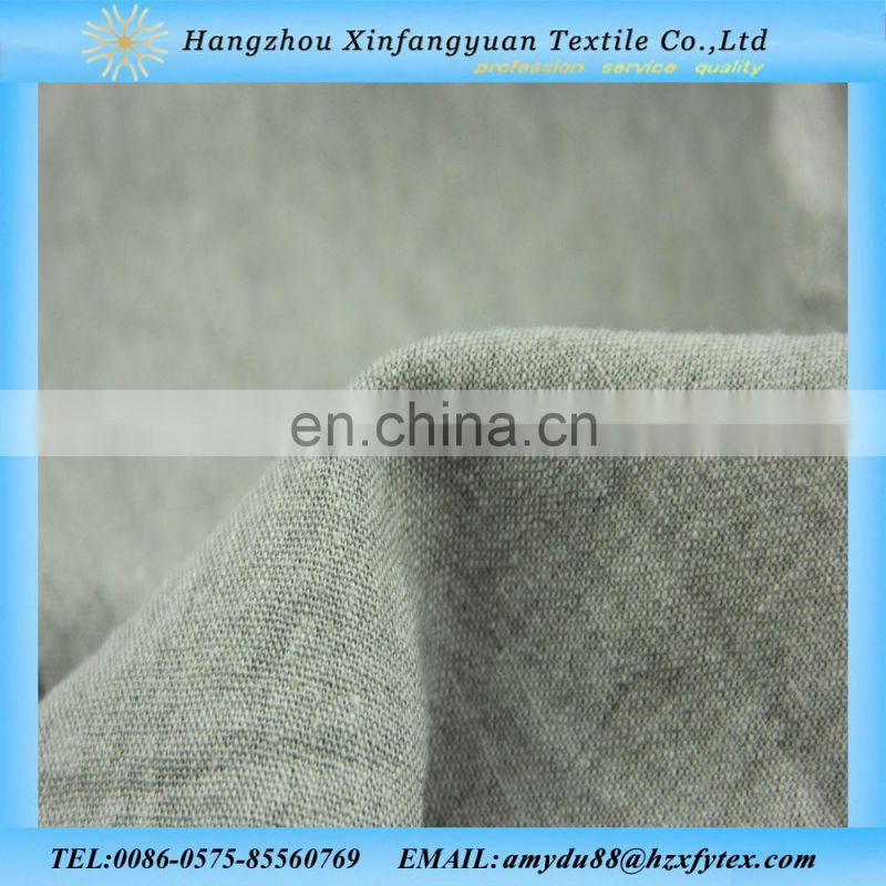 pure color viscose linen fabric for spring shirts