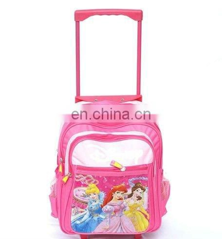 kids rolling school bag in tough material for new school term's promotional