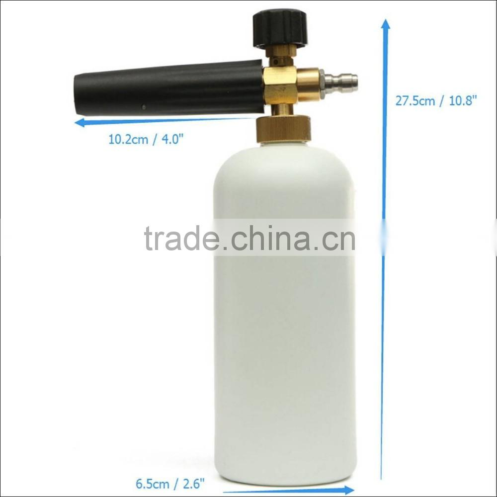 (3211) 1Liter Snow Foam High Pressure 3/4'' Connector Foam Lance Sprayer Gun