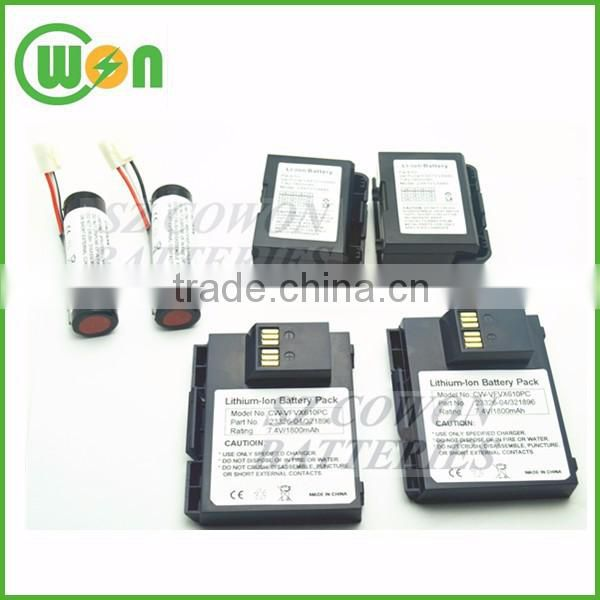 3 7V battery 2200mAh replacement battery for Ingenico IWL220
