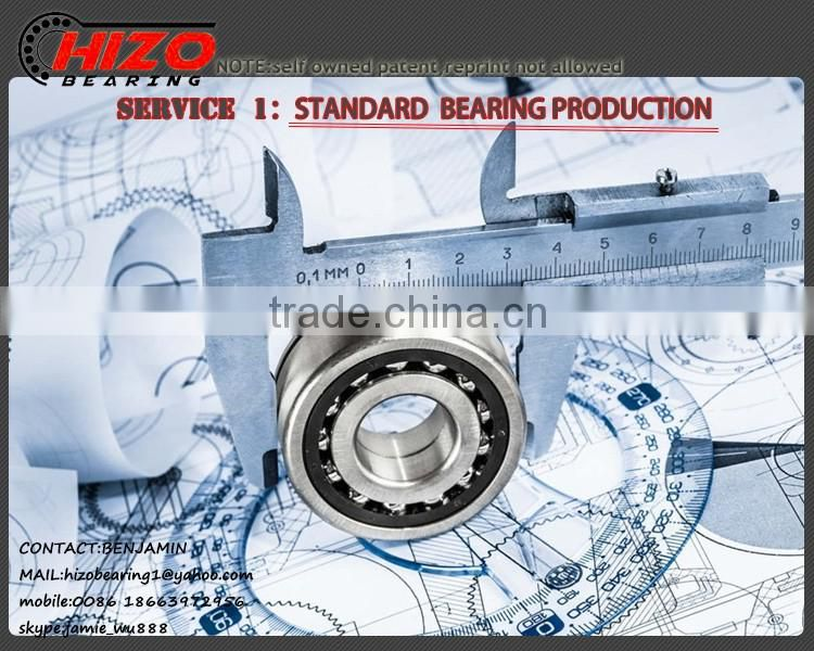 bearing supplier OEM Deep Groove OPEN ZZ 2RS RS single row hinge car miniature ball bearing