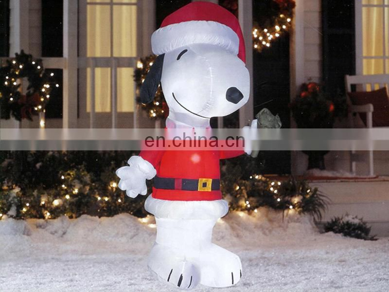 nice design large inflatable outdoor abominable snowman christmas decorations