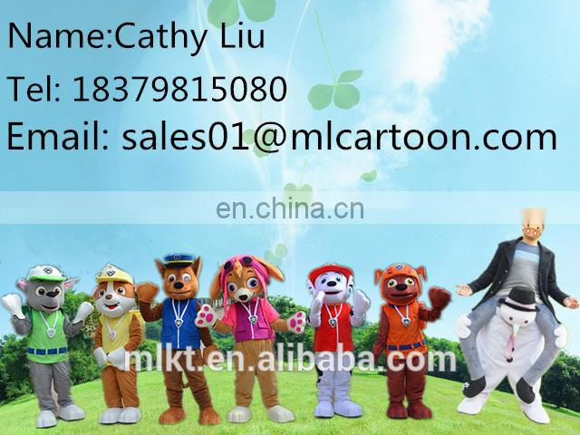 2017 holiday party event supply adult cartoon mascot costume