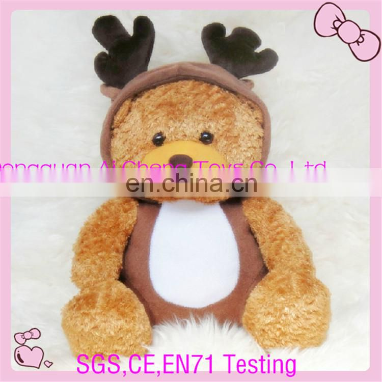 OEM baby plush animal backpack for sale CE ,EN71 testing