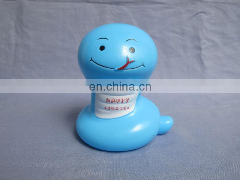 promotion money box snake animal shape bank coin