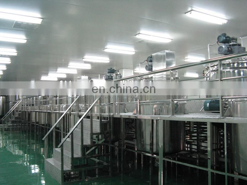 FLK CE china supplier electronics mixing tank with heating, cosmetics making machine