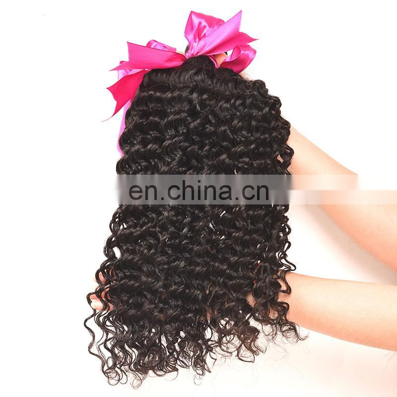 24 inch human braiding hair deep wave virgin malaysian hair