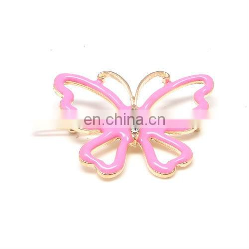 Fashion metal rhinestone crystal flower hair clip accessories