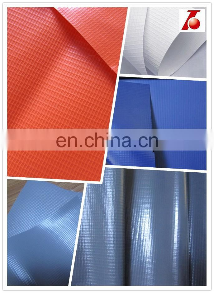 100% polyester PVC coated tarpaulin ground sheet