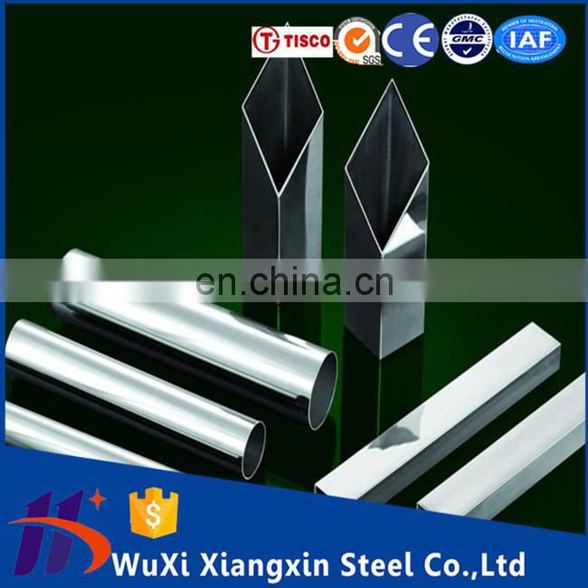 201 316l Welded stainless steel pipe price For decoration