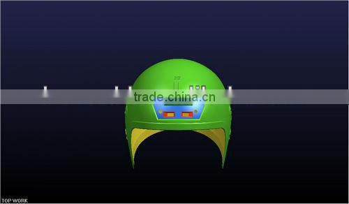 High precision fire fighter helmet mould