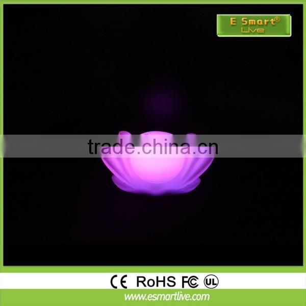 2016 China supplier good quality beautiful decoration best led flower pot solar led flower pot