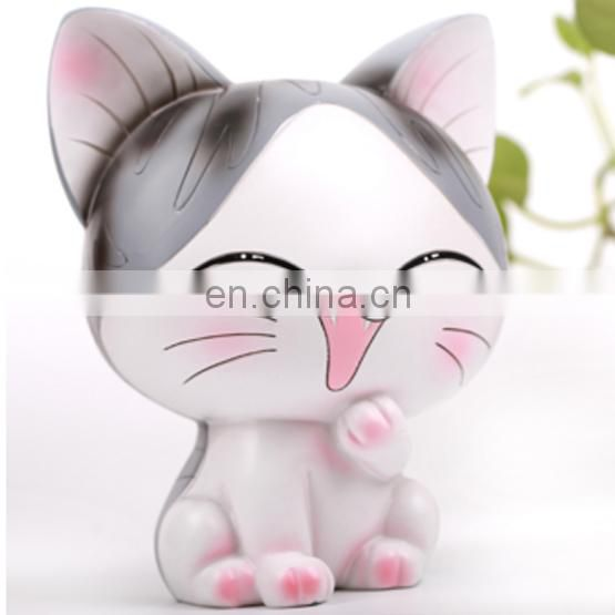 Hot sale custom made garden decoration items resin house figurine