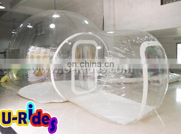 transparent bubble inflatable accommodation tent for camping