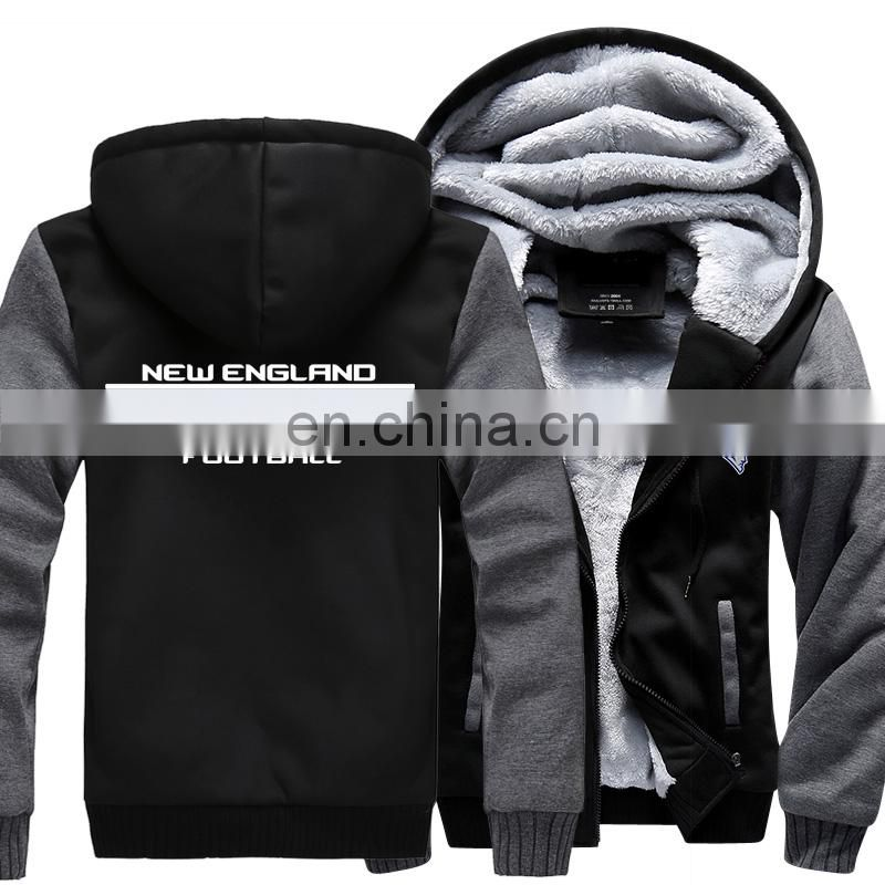 Miami Football New Model Winter Thicken Jacket Dolphins Jersey Plus Size XXXXXL American Winter Hoodies and Sweatshirt