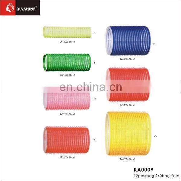 wholesale barber supplies plastic hair rollers for salon
