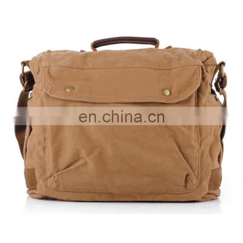 Leisure Style canvas across body bags from china guangzhou