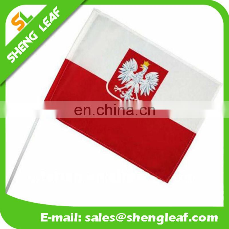 2017 hot ! polyester country hand flags