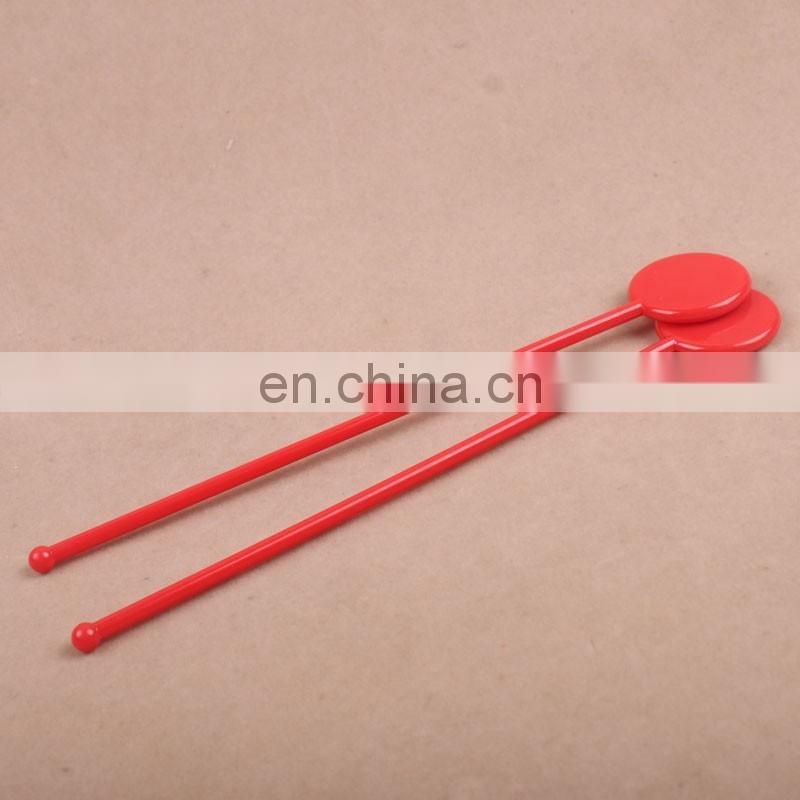 Factory plastic custom flavored coffee stirrers/drink stirrers