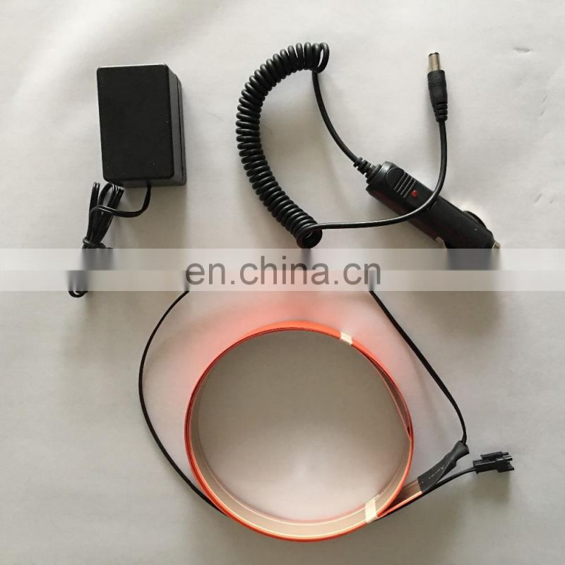 2x100cm el light tape el flexible neon strip with inverter