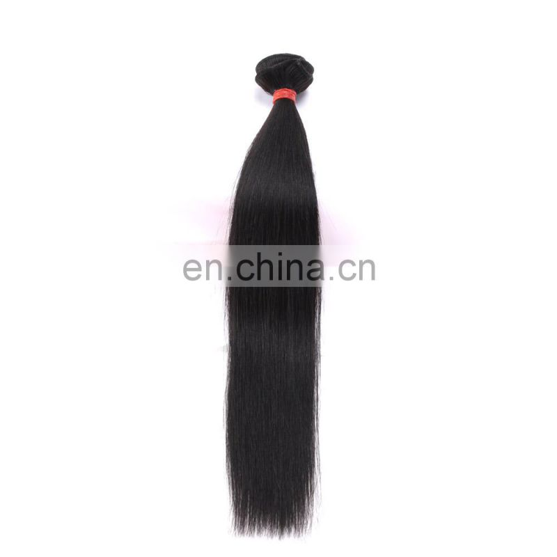100% bundle weft Brazilian Remy Virgin human straight hair extension