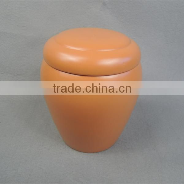 Chinese funeral supplier ceramic antique cremation urn for ashes
