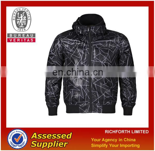 Printing short jacket in cheap price