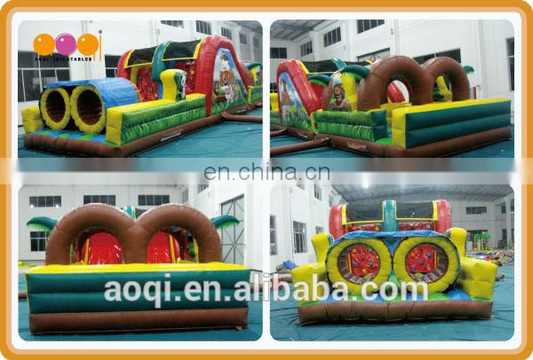 AOQI best giant inflatable obstacle/inflatable twister game new design inflatable toy for kids