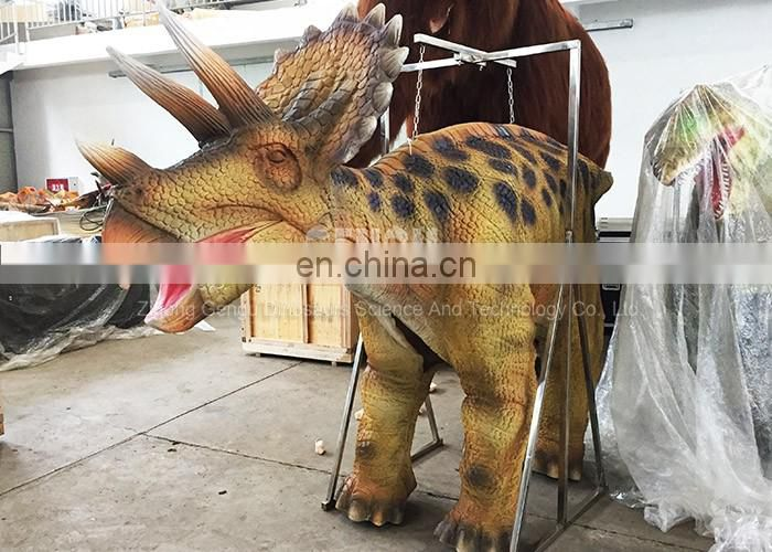 Amusement park high quality animatronic dinosaur costume adult