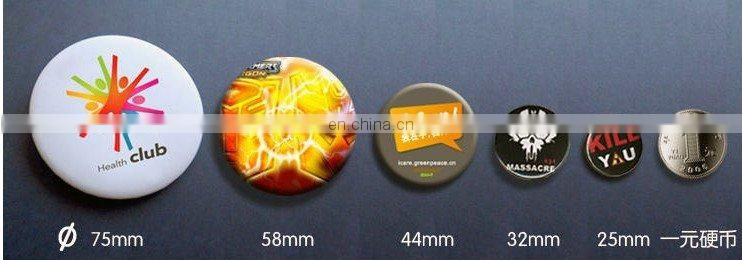 The New Design Button Badge With Various Size