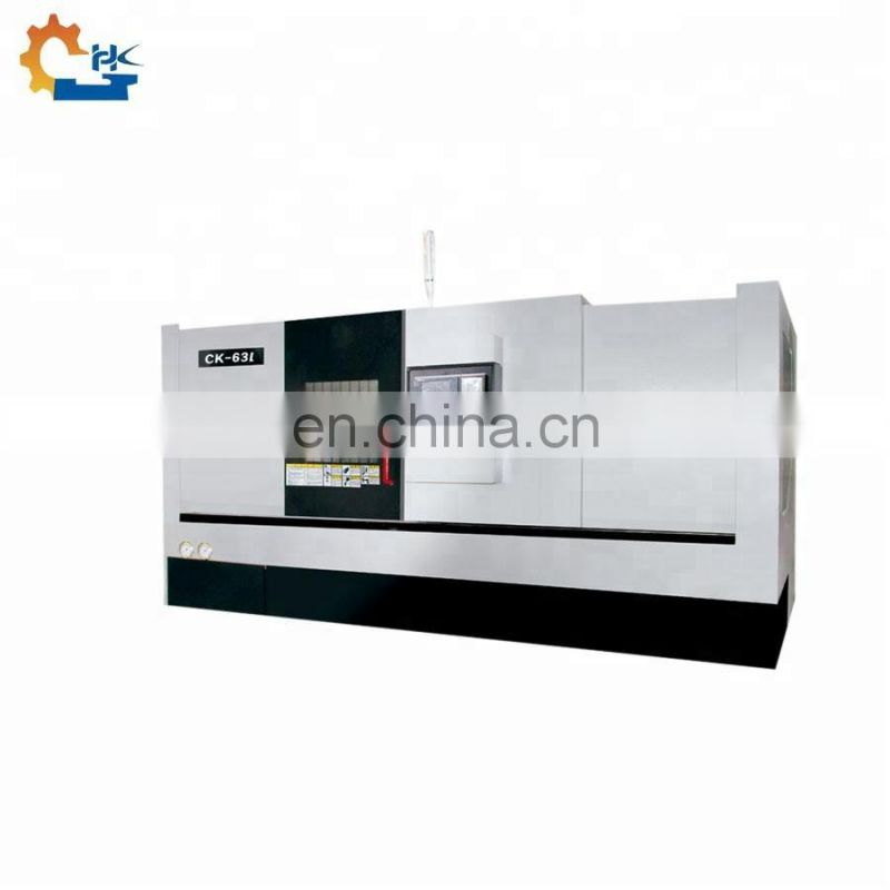 Horizontal Auto Bar Slant Bed CNC Engine Lathe Machine Price Image
