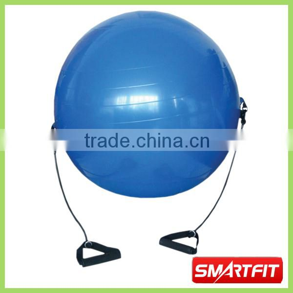 high quality anti-burst gym ball with strap Swiss pilate ball yoga fitness elastic ball