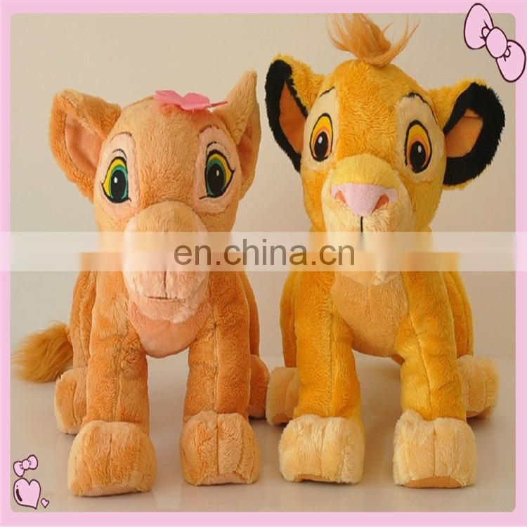 Custom High quality plush animal toys with pen holder for kids