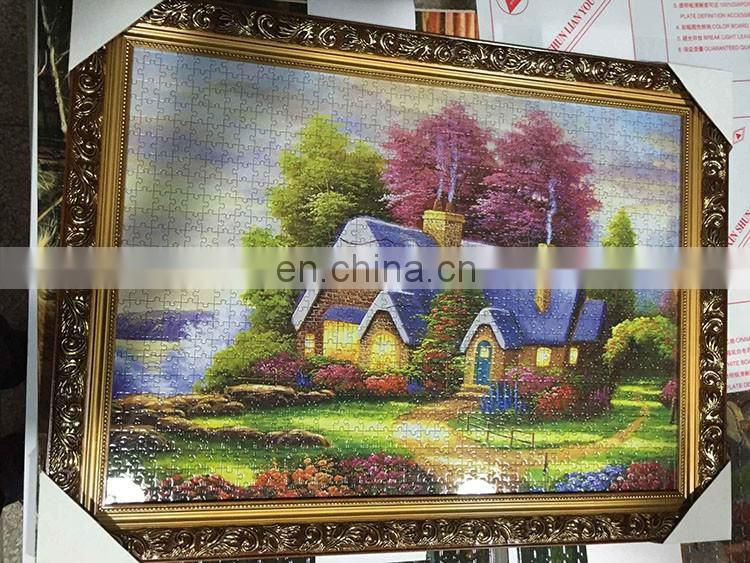 Adult cardboard jigsaw puzzle custom puzzle 5000 pieces
