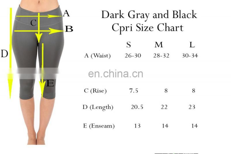 High Quality Active Wear For Women Yoga Sport Leggings Wholesale