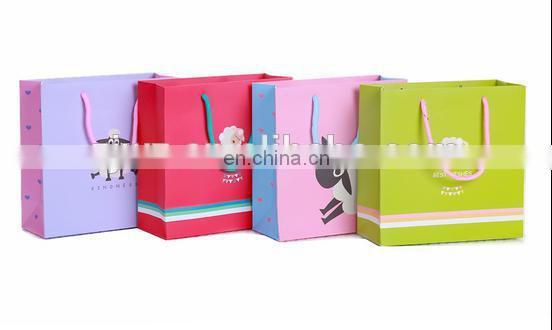 2015 grey color original design little goat simple pattern paper bag