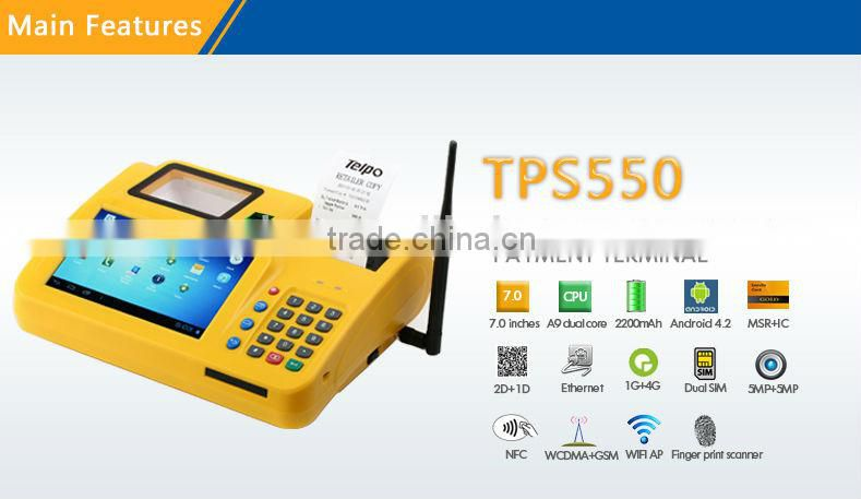 Telpo TPS550 All In One PC, Android Touch Screen POS