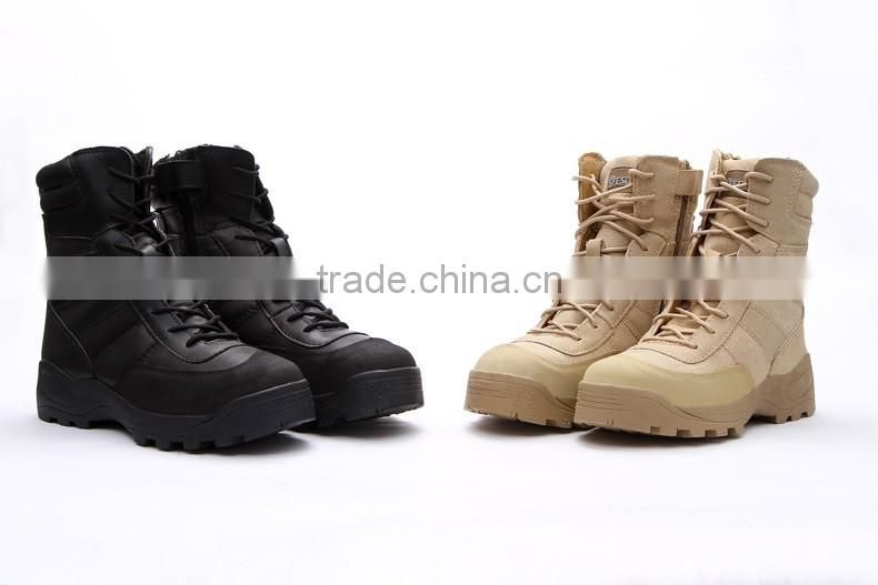 military boot2016 Brand military boots men desert ankle boots genuine leather tactical boots footwear Army outdoor boots