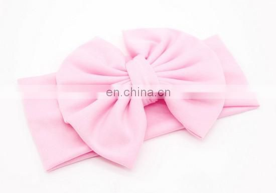 Big Messy Bow Headbands Top Knot Baby Headwrap Top Knot Turban Headband For Baby Birthday Hair Accessory
