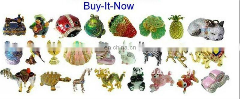 2012 China God decorative trinket boxes