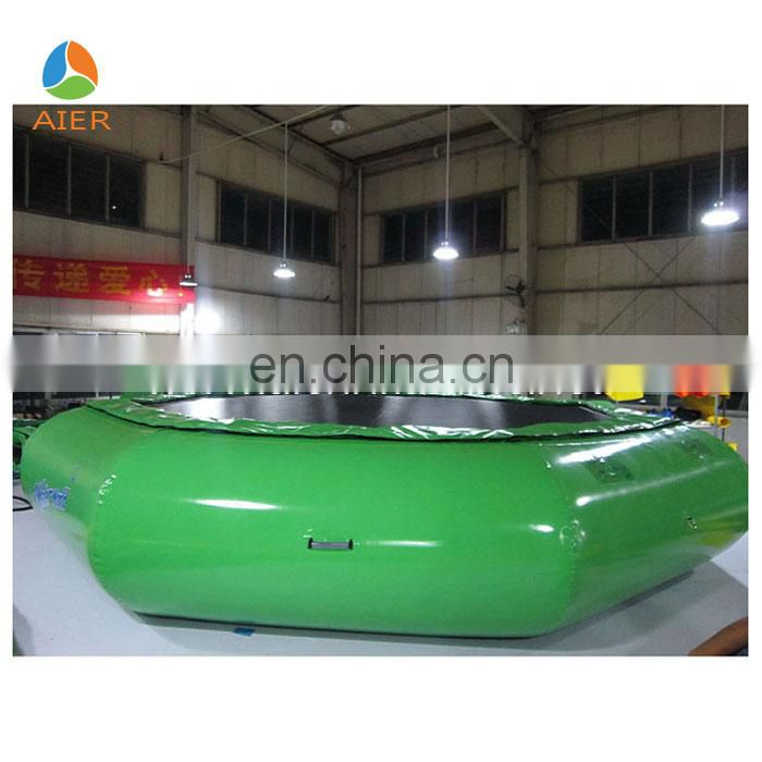 Transparent PVC inflatable water roller