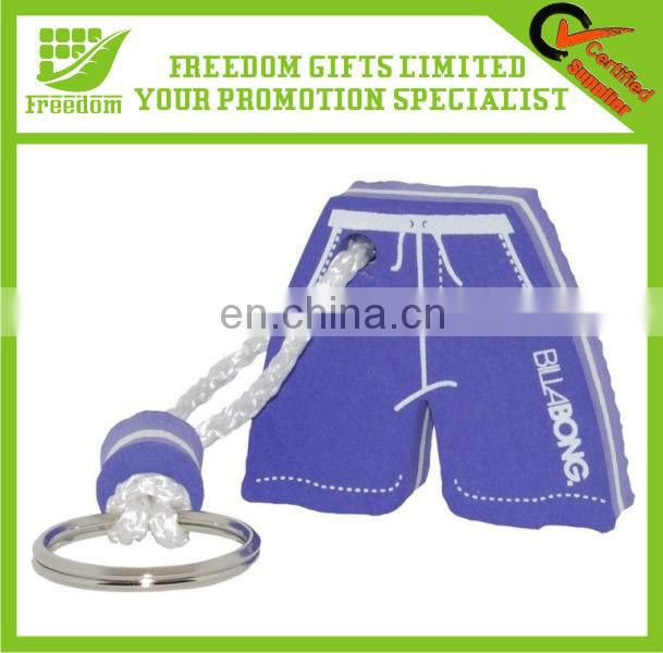 Customized Logo Promotional Floating EVA Foam Keyring